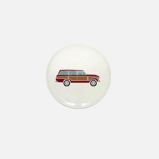 Weekend Wagon Mini Button