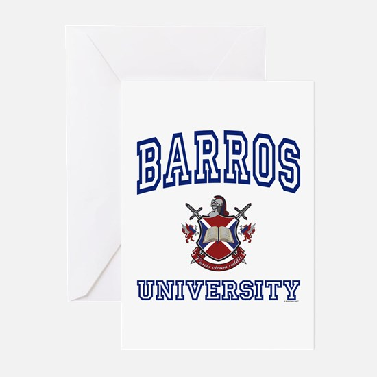 BARROS University Greeting Cards (Pk of 10)