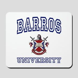 BARROS University Mousepad