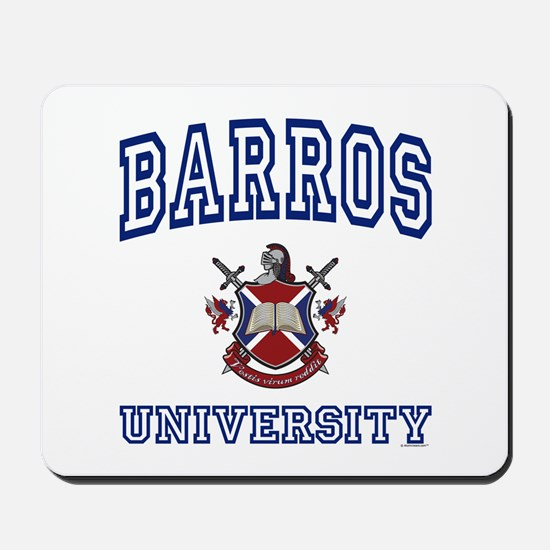 BARROS University Mousepad