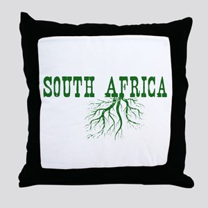 South Africa Roots Throw Pillow