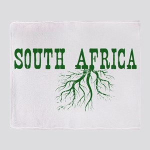 South Africa Roots Throw Blanket