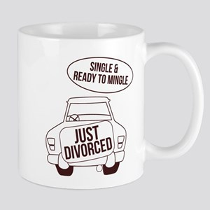 single and ready to mingle Mugs