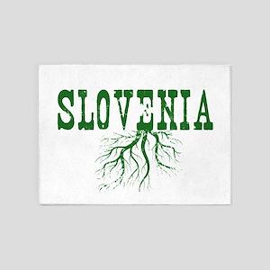 Slovenia Roots 5'x7'Area Rug