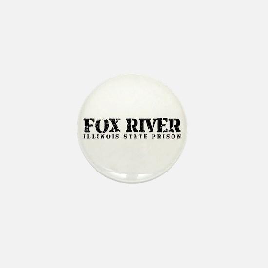 Fox River - Prison Break Mini Button