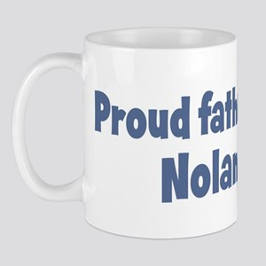 Proud father of Nolan Mug