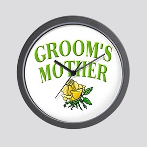 Groom's Mother (rose) Wall Clock