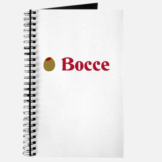 Olive Bocce (I Love Bocce) Journal