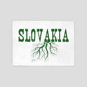 Slovakia Roots 5'x7'Area Rug