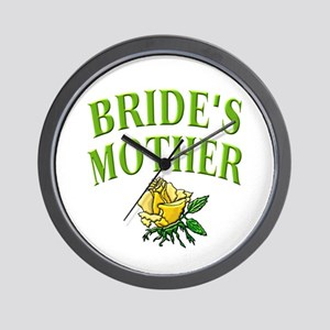 Bride's Mother (rose) Wall Clock