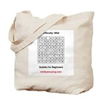 Sudoku for Beginners Tote Bag