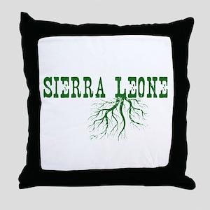 Sierra Leone Throw Pillow