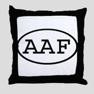 AAF Oval Throw Pillow
