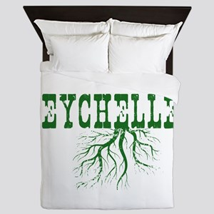 Seychelles Roots Queen Duvet