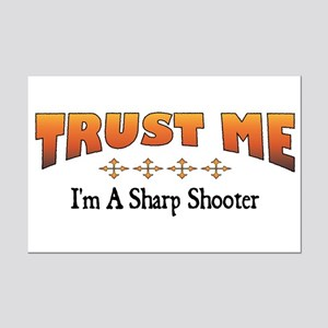 Trust Sharp Shooter Mini Poster Print