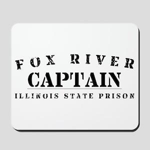 Captain - Fox River Mousepad