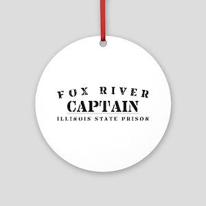 Captain - Fox River Ornament (Round)