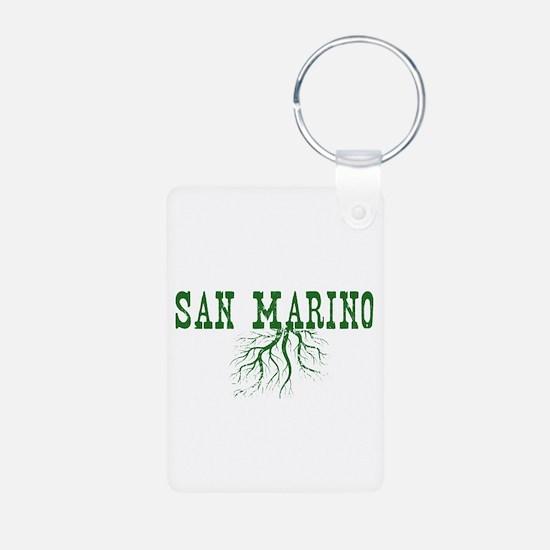 San Marino Aluminum Photo Keychain