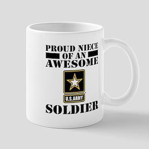 Proud Niece U.S. Army Mug