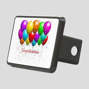 Congratulations Balloons Hitch Cover