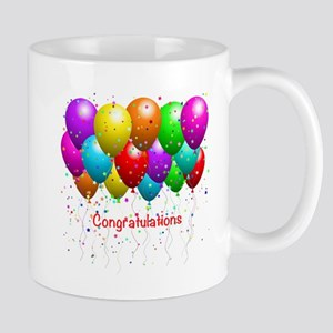 Congratulations Balloons Mugs