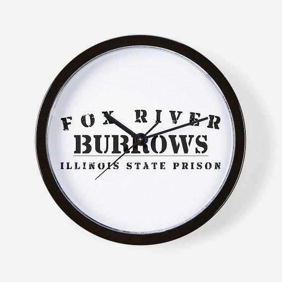 Burrows - Fox River Wall Clock