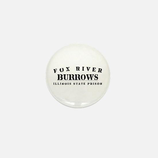 Burrows - Fox River Mini Button