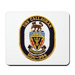 USS CALLAGHAN Mousepad