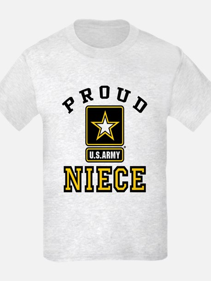 Proud Niece U.S. Army T-Shirt