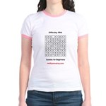 Sudoku for Beginners Jr. Ringer T-Shirt