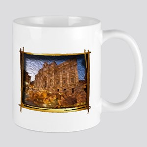 The Trevi Fountaine Mugs