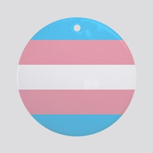Transgender Pride Flag Ornament (Round)