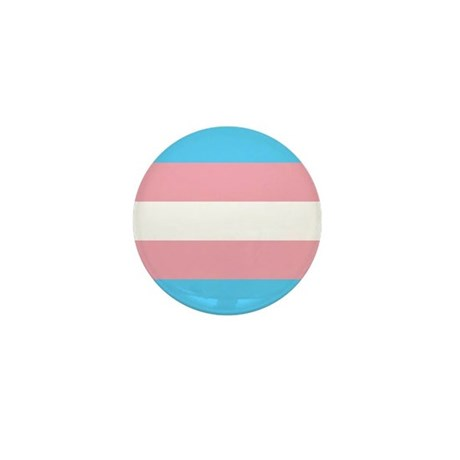 Transgender Pride Flag Mini Button