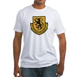 USS CHARLES F. ADAMS Fitted T-Shirt