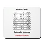 Sudoku for Beginners Mousepad