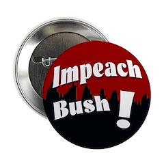 100 Bulk Rate Impeach Bush Buttons