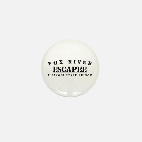 Escapee - Fox River Mini Button