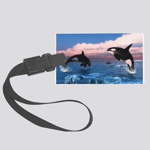 Killer Whales In The Arctic Ocean Luggage Tag