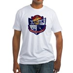 USS CHARLES P. CECIL Fitted T-Shirt
