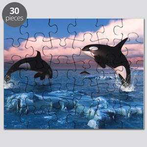 orca whale puzzles cafepress