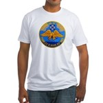USS CHARLES R. WARE Fitted T-Shirt