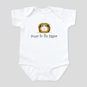 Power to the Piggies Infant Bodysuit
