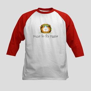 Power to the Piggies Kids Baseball Jersey
