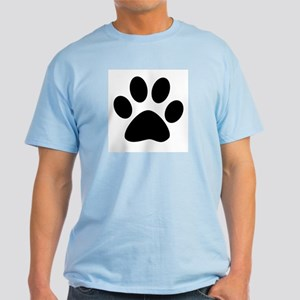 Tiger Paw Print Light T-Shirt