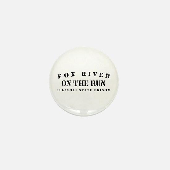 On The Run - Fox River Mini Button