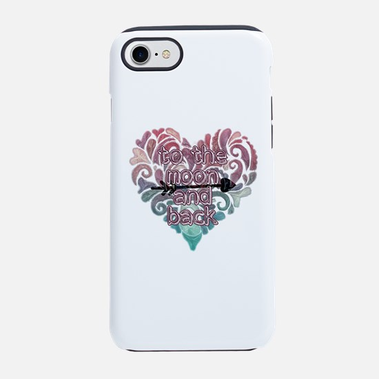 To moon and back iPhone 7 Tough Case