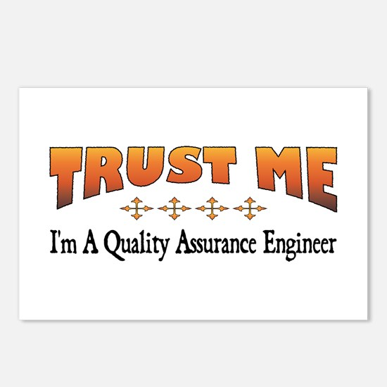 Trust Quality Assurance Engineer Postcards (Packag