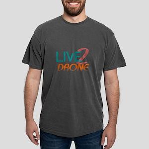 Live 2 Drone Mens Comfort Colors Shirt