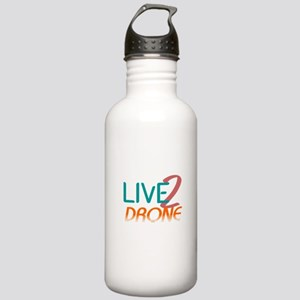 Live 2 Drone Stainless Water Bottle 1.0L