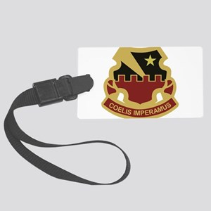 60th Air Defense Artillery Large Luggage Tag